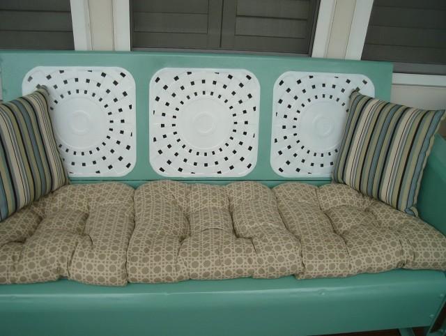 Vintage Metal Porch Glider