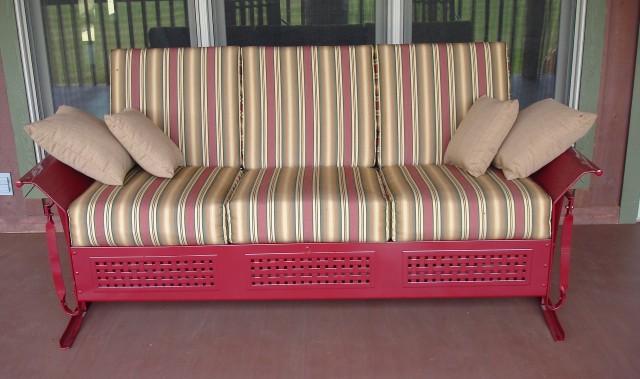 Vintage Porch Glider Cushions