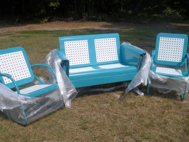 Vintage Porch Glider Parts