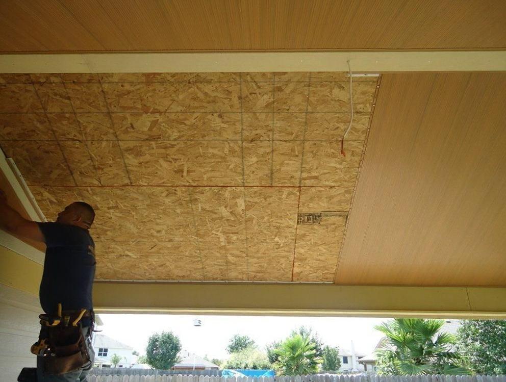 Vinyl Porch Ceiling Material