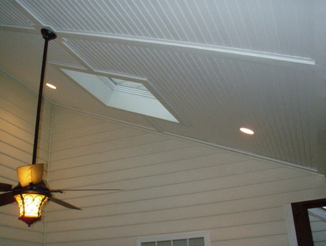 Vinyl Porch Ceiling Panels