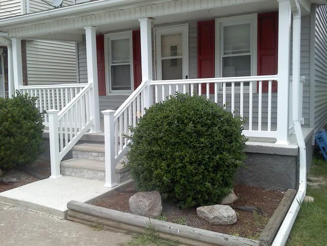 Vinyl Porch Railings And Columns