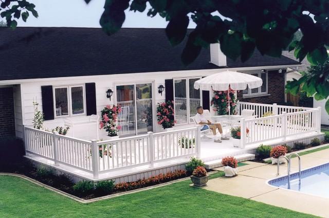 Vinyl Porch Railings Home Depot