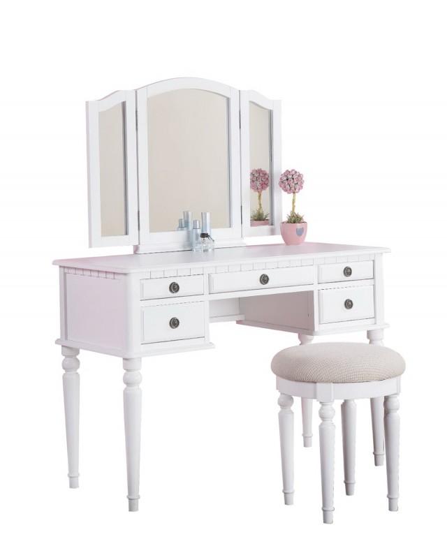 White Vanity Table Ikea