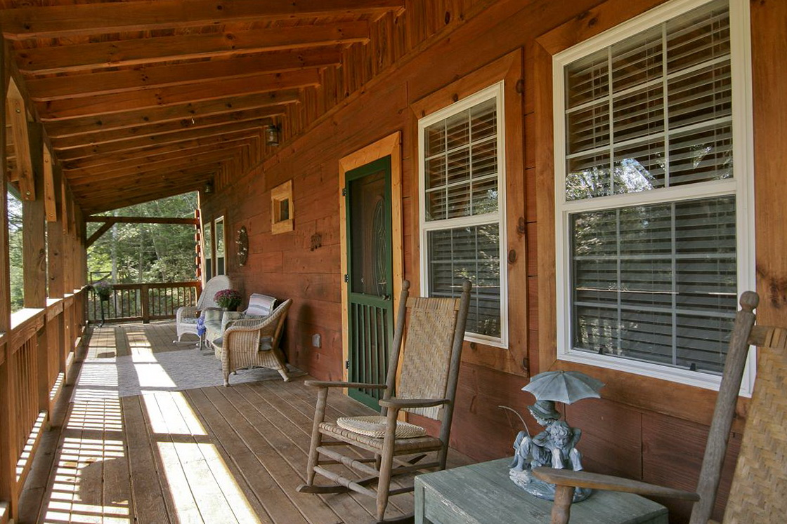 Wood Deck Front Porch Ideas Home Design Ideas