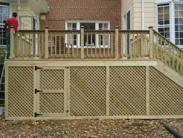 Wood Porch Railing Lowes