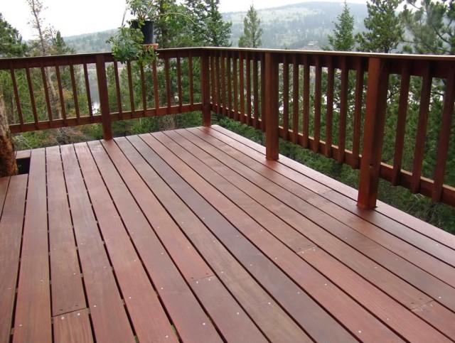 Wood Porch Railing Plans
