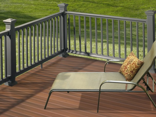 Wood Porch Railing Systems