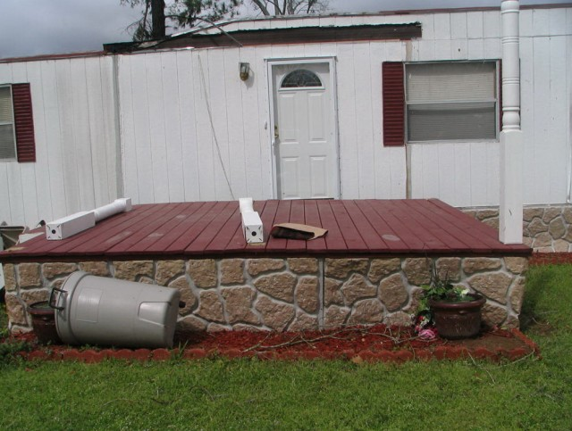 Wood Porches For Mobile Homes
