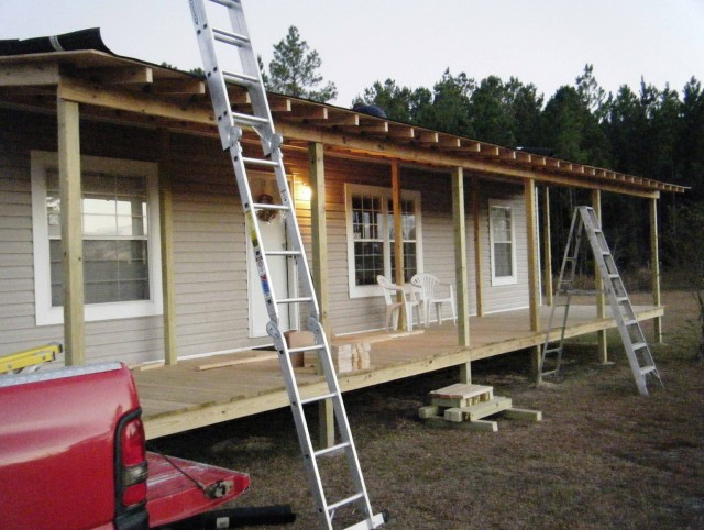 Wooden Porches For Mobile Homes