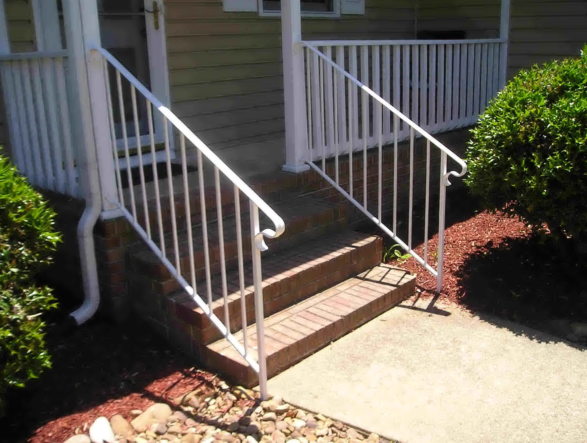 wrought railing designs deck railings design lustwithalaugh them tips on porch how iron repair to