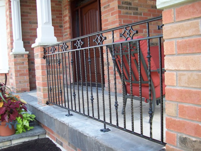 Wrought Iron Porch Railings Home Depot