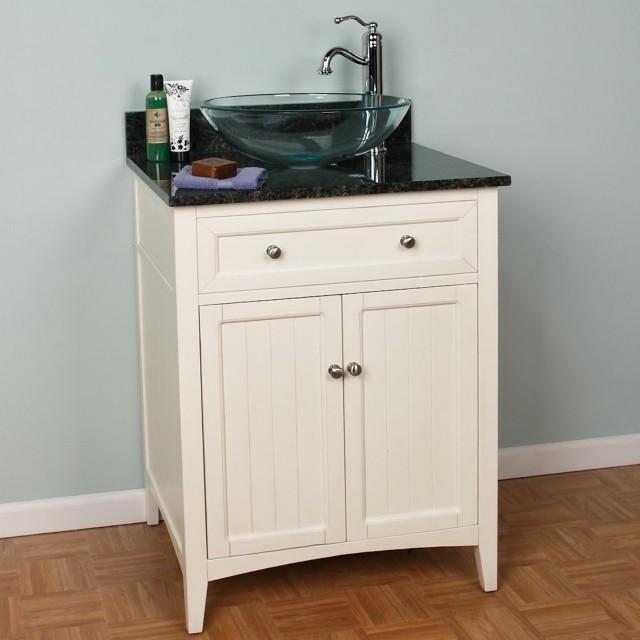 24 Vanity With Vessel Sink