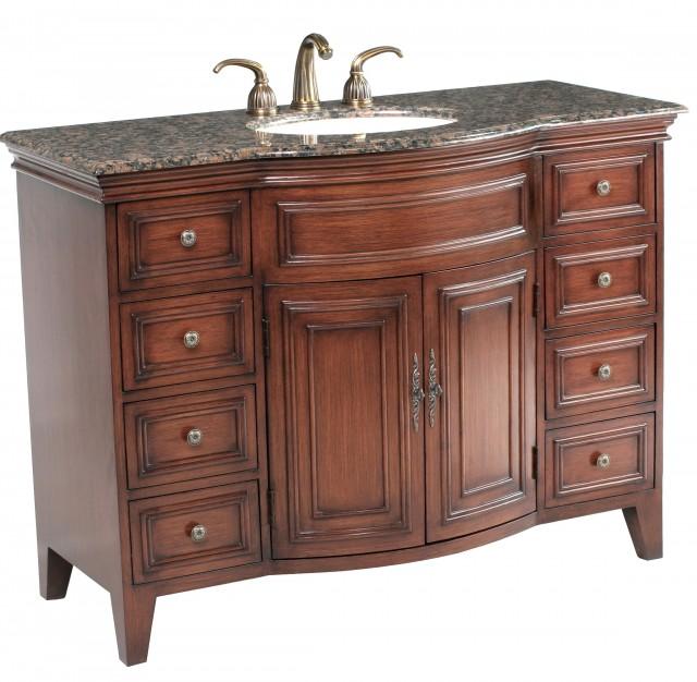 48 Inch Single Sink Bathroom Vanity