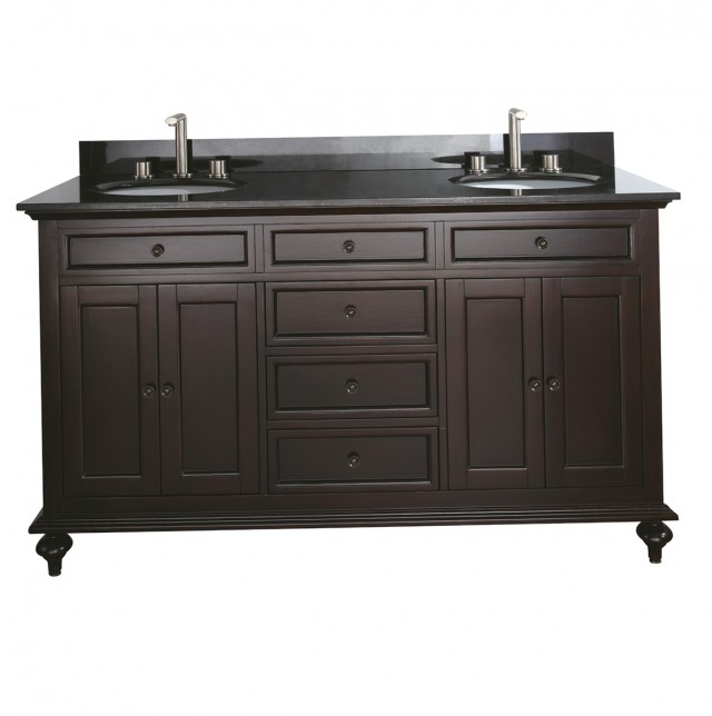 60 Double Sink Vanity Top