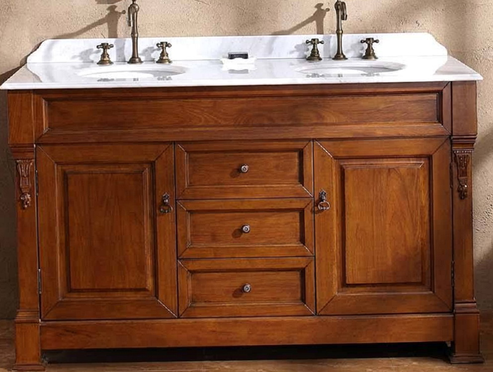 60 Inch Double Sink Vanity Lowes Home Design Ideas