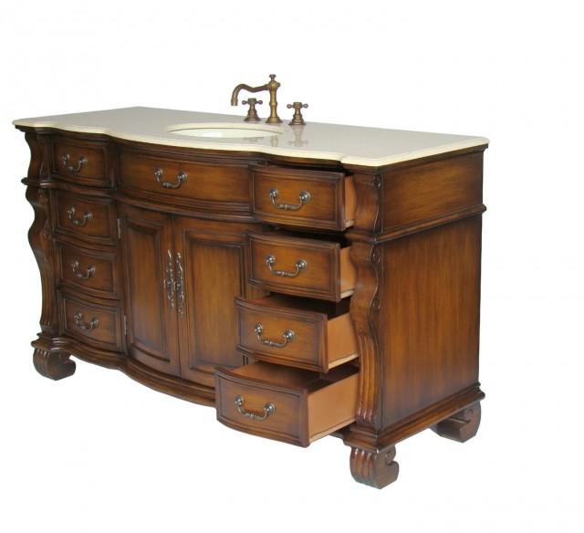 60 Single Sink Bathroom Vanity