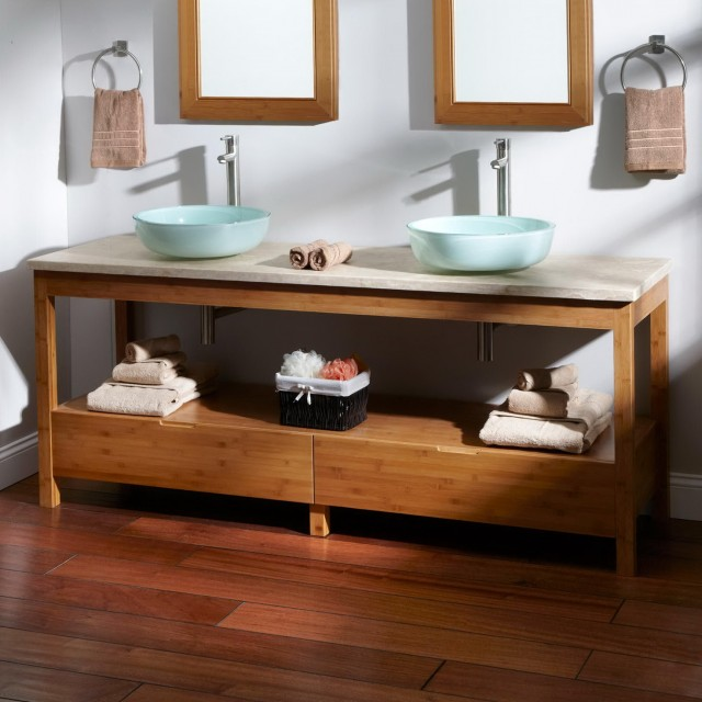 72 Double Sink Vanity Home Depot