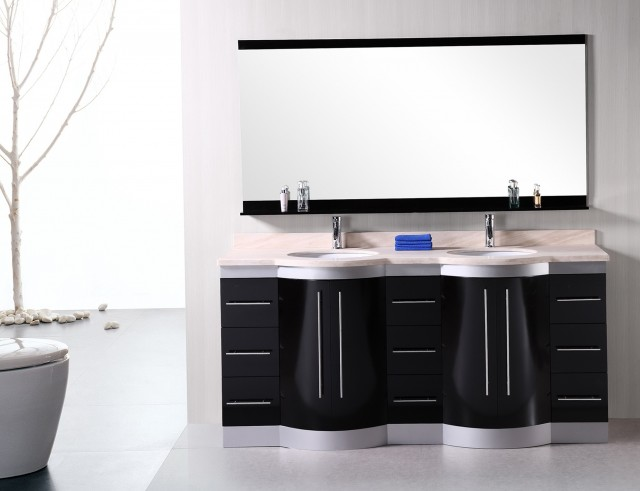 72 Double Sink Vanity Top Only