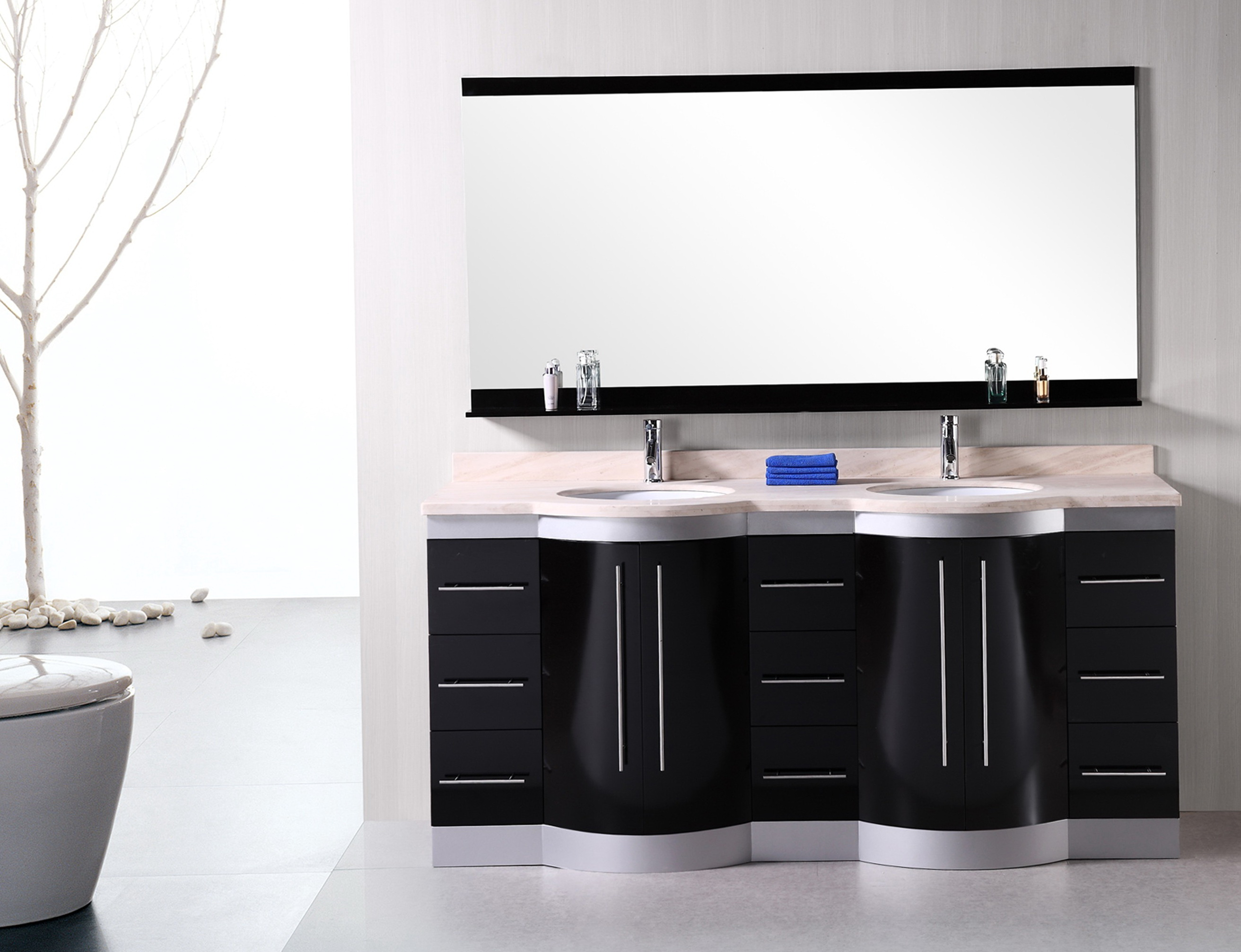 72 Double Sink Vanity Top Only Home Design Ideas
