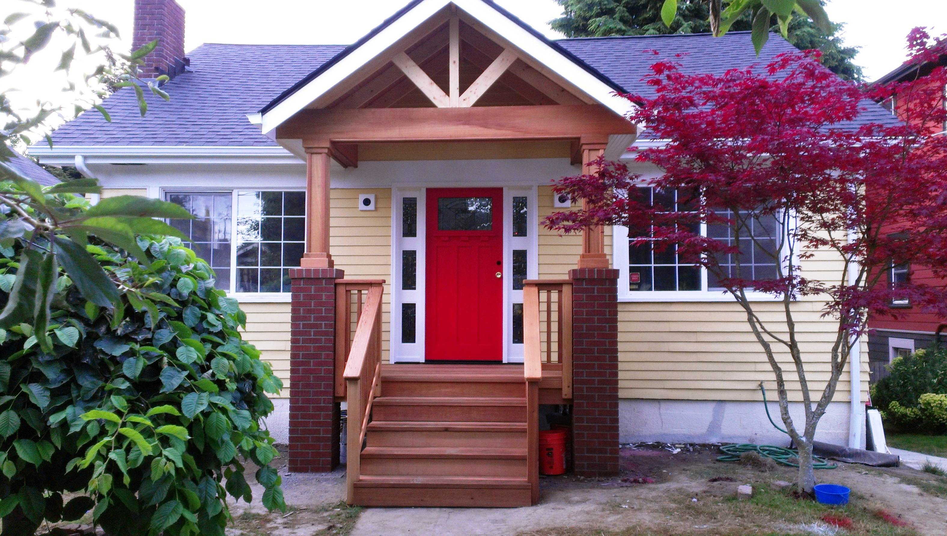 Adding A Porch To A Brick House