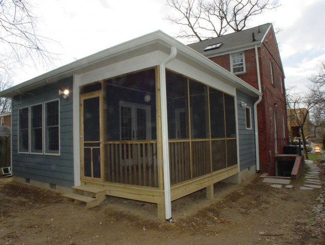 Adding A Porch To A Colonial