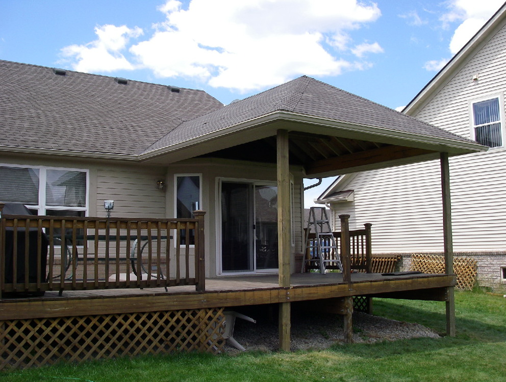 Adding A Porch To Existing House