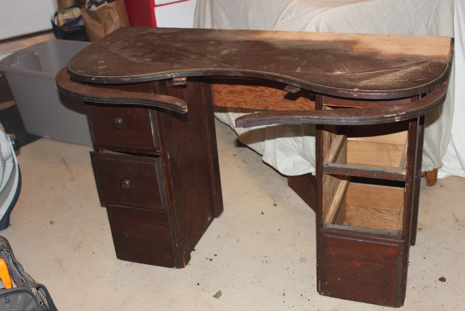 Antique Vanity Table With Swing Out Arms Home Design Ideas