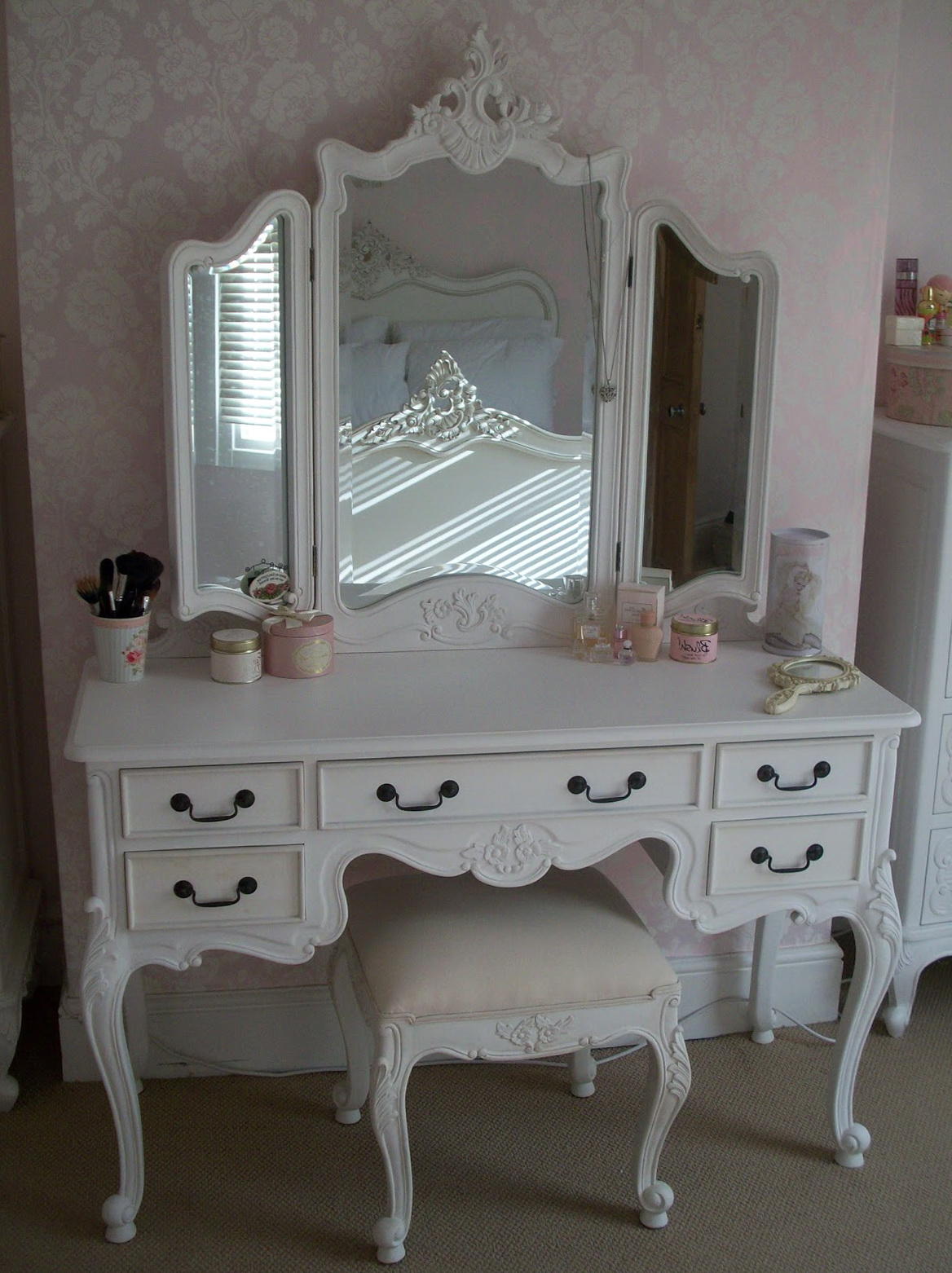 Antique White Makeup Vanity Sets - Antique White Makeup Vanity Sets Home  Design Ideas - Antique - Antique White Makeup Vanity Antique Furniture