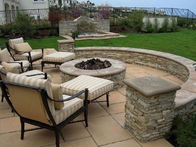 Back Porch Fire Pit Ideas