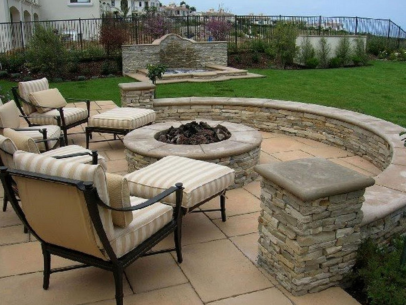 Permalink to Back Porch Fire Pit Ideas