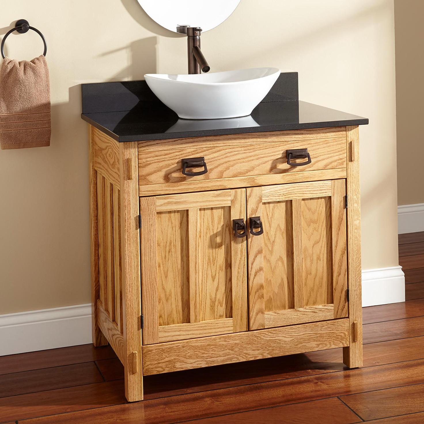bathroom vanity height with vessel sink home design ideas
