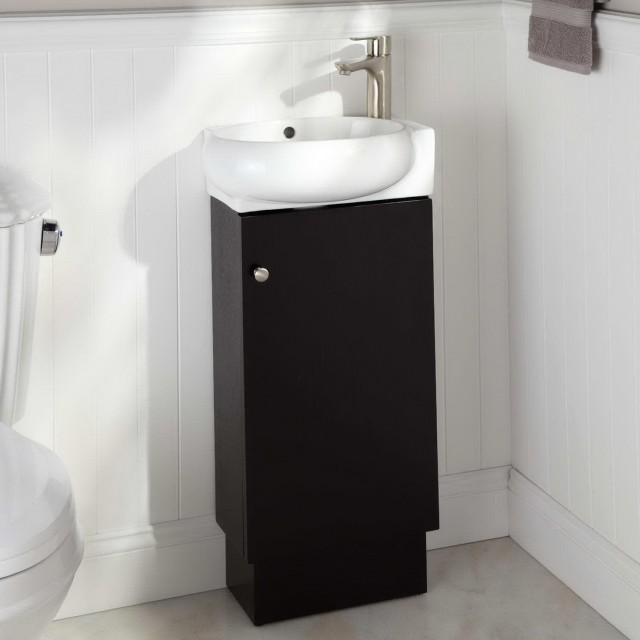 Black Bathroom Vanities Without Tops