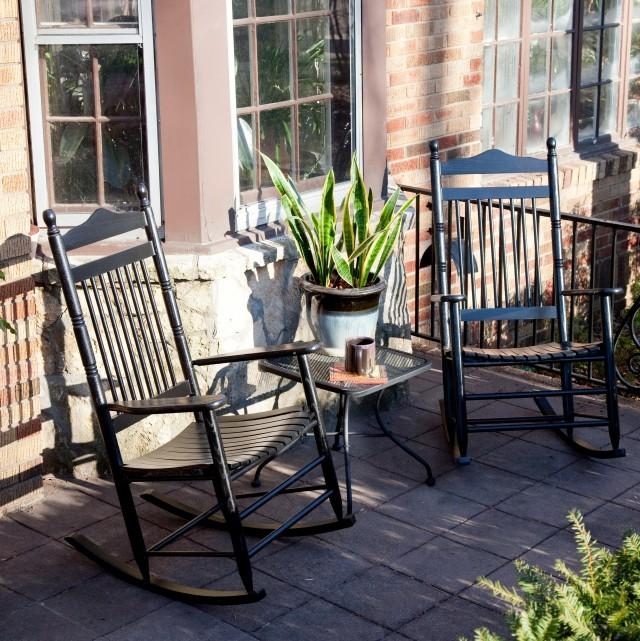 Black Porch Rocking Chairs Sale