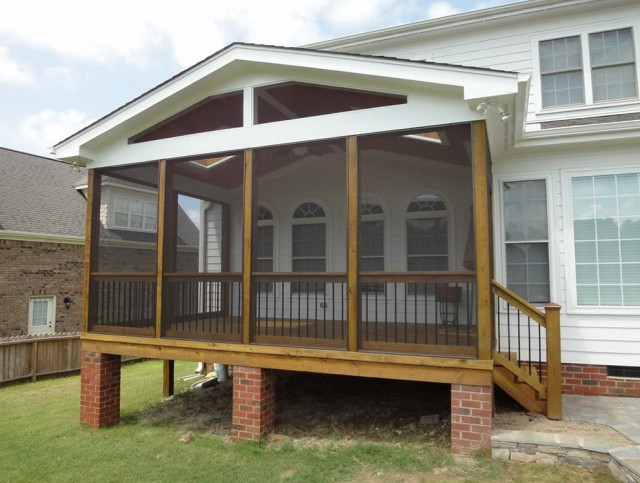 Building A Screened Porch On A Deck