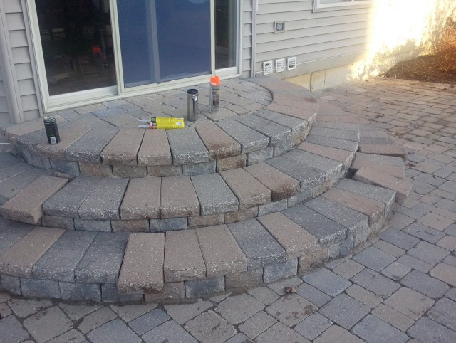 Building Stone Steps Porch