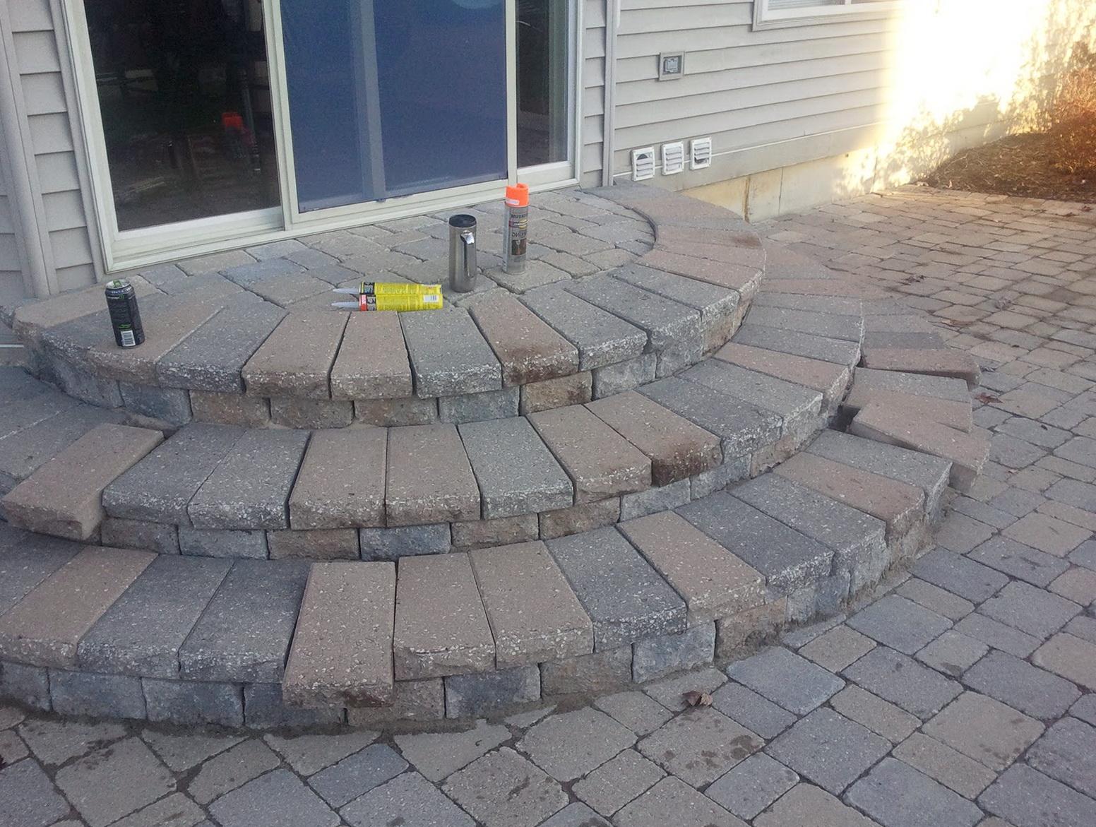 Building Stone Steps : Building stone steps porch home design ideas