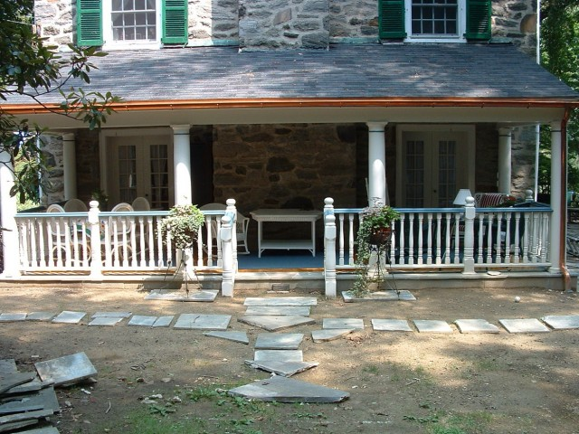 Colonial Front Porch Ideas