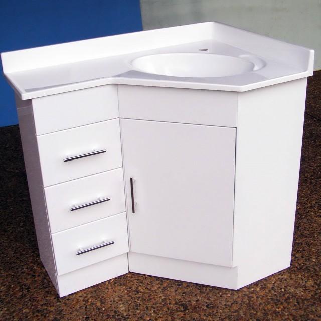 Corner Vanity Sink Unit
