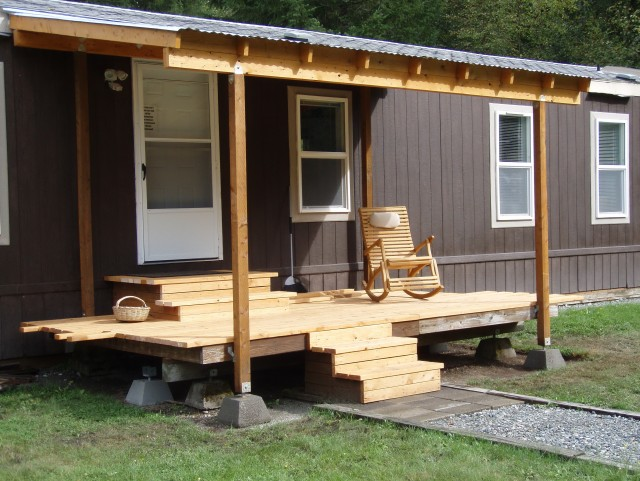Covered Porch Designs For Mobile Homes