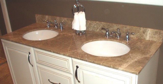 Custom Bathroom Vanity Tops