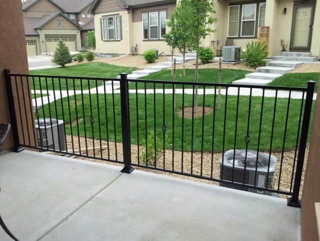 Decorative Metal Porch Railings