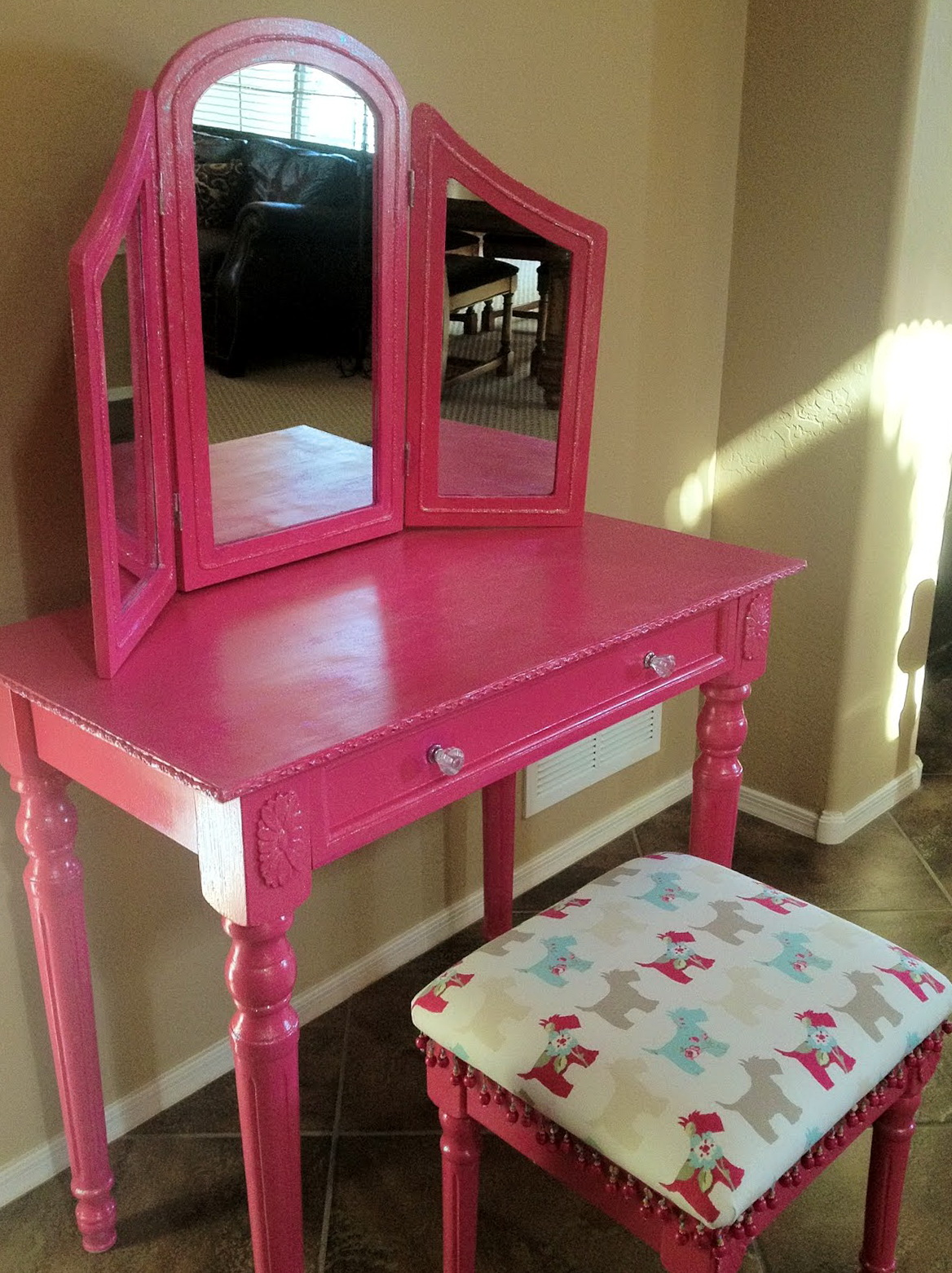 Diy Little Girl Vanity Home Design Ideas