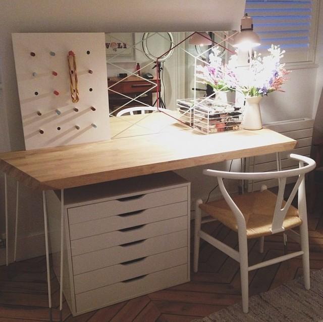 diy makeup vanity desk - Vanity Desk Ideas