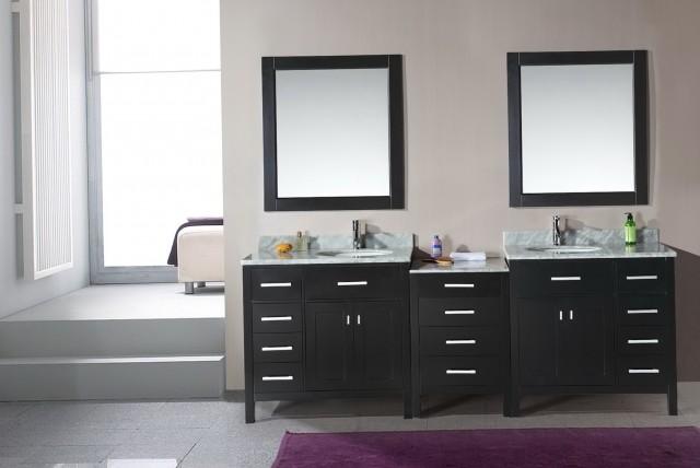 Double Bathroom Vanity Mirrors