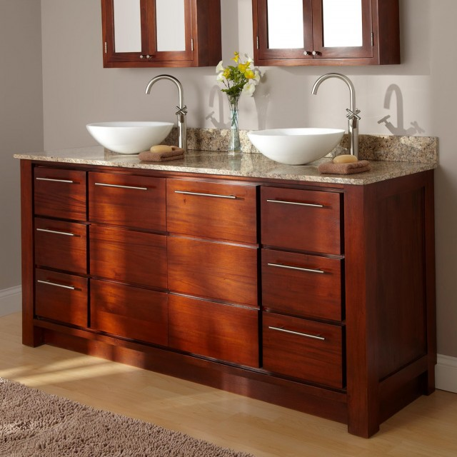 Double Vanity Sink Unit