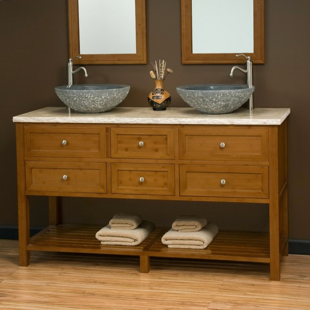 Double Vanity Sinks For Small Bathrooms