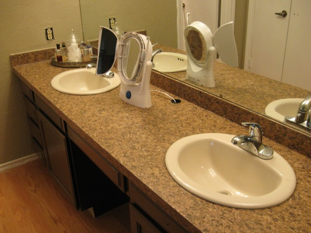 Double Vanity Tops For Bathrooms