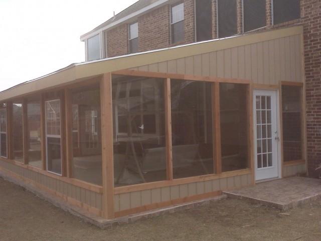 Enclosed Porch Plans Free