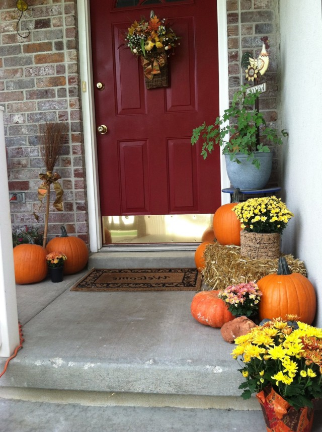 Fall Porch Decorating Ideas Pinterest Home Design Ideas